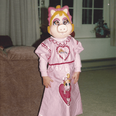 Past Halloween Costumes