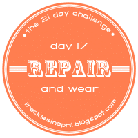 Day 17- Repair and Wear