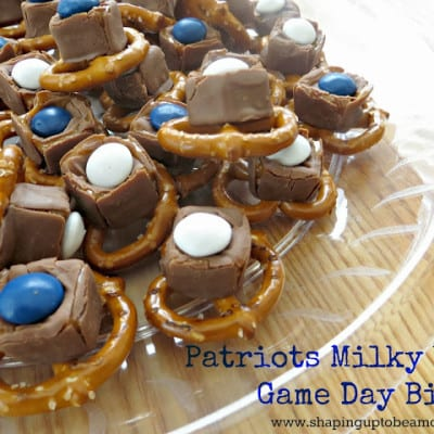 Patriots Milky Way Game Day Bites