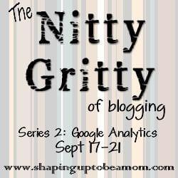 Nitty Gritty: Google Analytics Day One