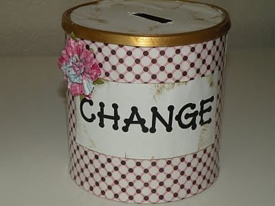 Ideas for repurposing formula cans!