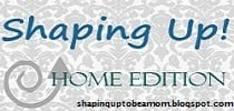 Shaping Up… Home Edition: Nursery