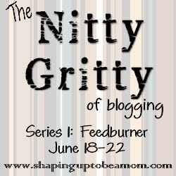 Nitty Gritty: Feedburner Day One