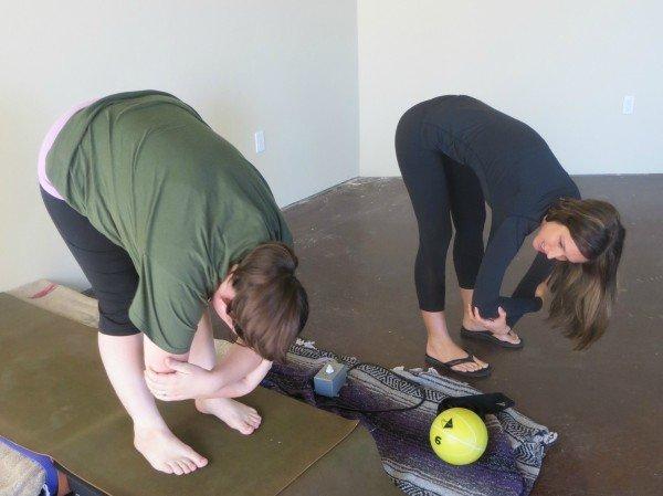 Vibetality vibrating yoga