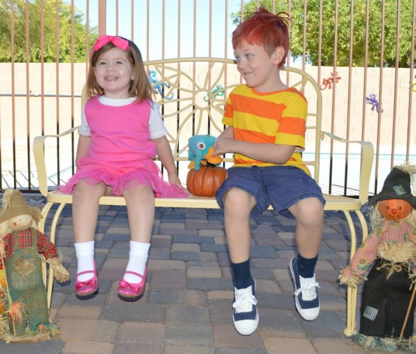 Isabella and Phineas Costumes