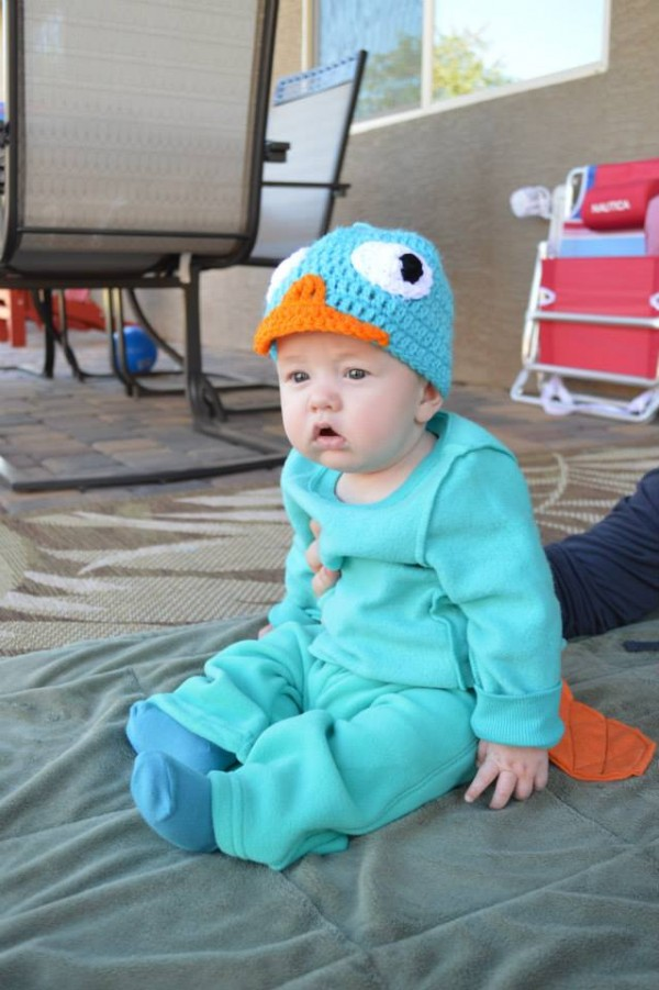 Perry the Platypus Costume3