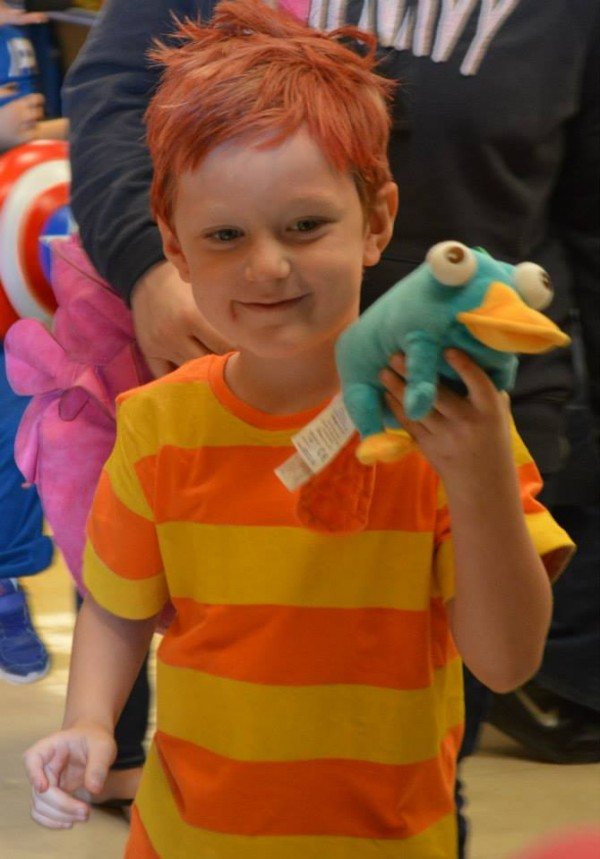 phineas costume - Phineas Halloween Costume