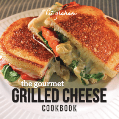 Cooking in The Kittchen {gourmet grilled cheese}