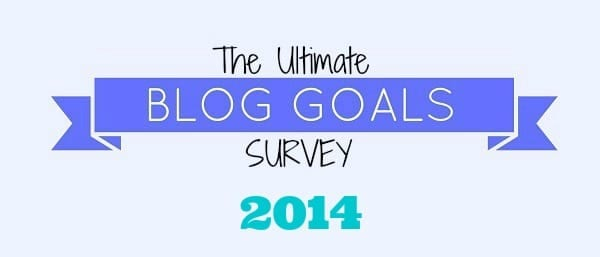 Ultimate Blog Survey for 2014