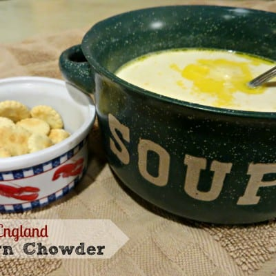New England Corn Chowder {holiday recipe ideas}