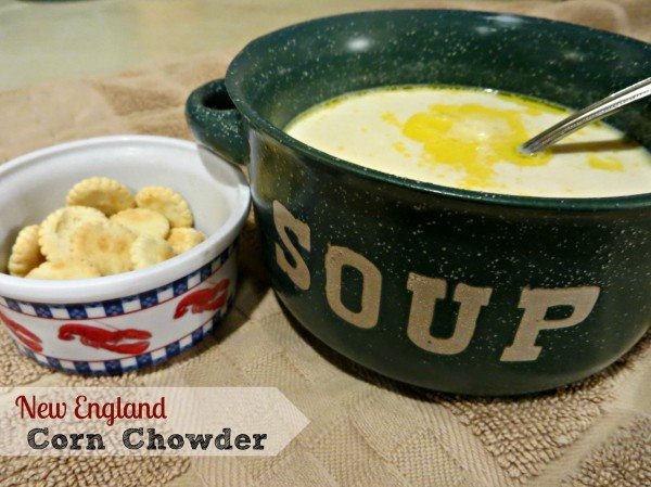 New England Corn Chowder Recipe #ChooseSmart #shop #cbias