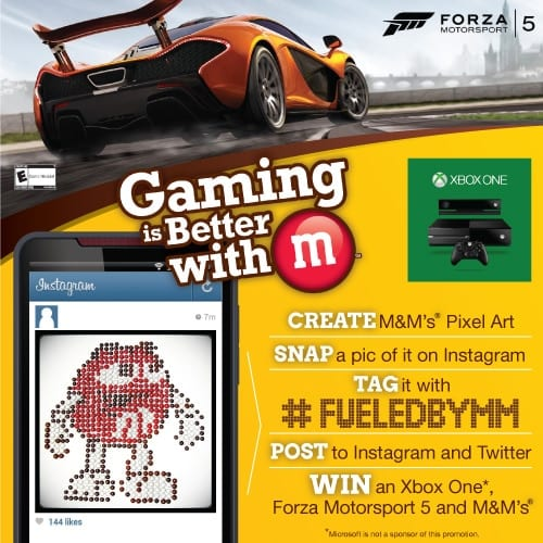 gaming is better with m #FueledByMM #contest