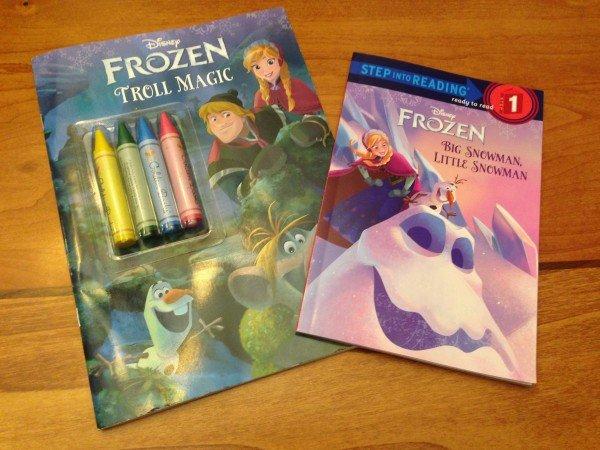 FROZEN books from Walmart, #FrozenFun, #shop #cbias