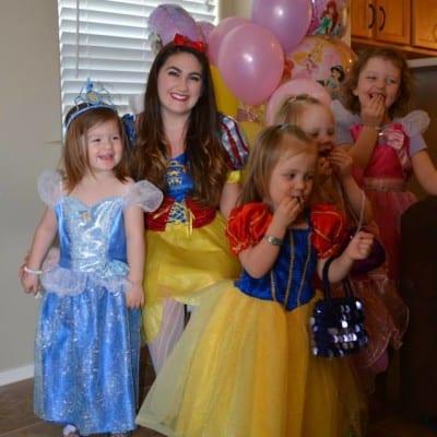Vanessa's Princess Party