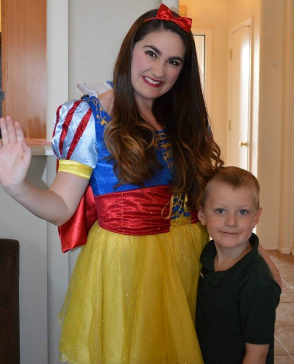 snow white with carter