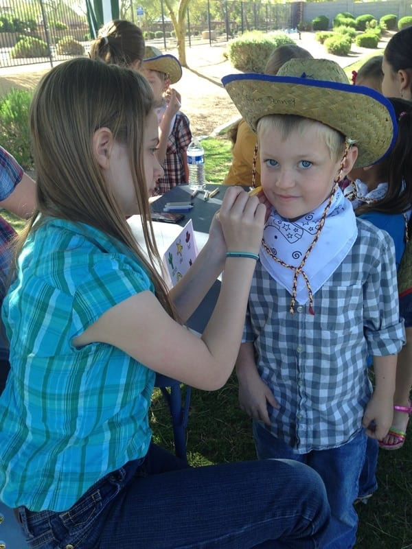 Kindergarten Rodeo Day