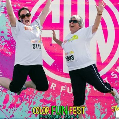 Shaping Up For Summer: Color Fun Fest