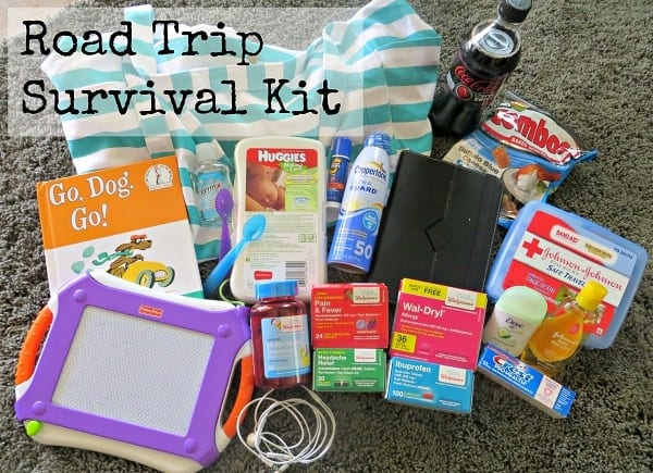 Road Trip Survival Kit #WellAtWalgreens #shop