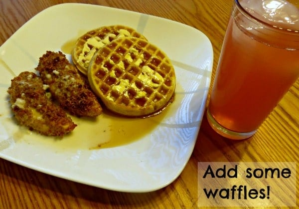 Chicken and Waffles recipe #FreshTake #shop