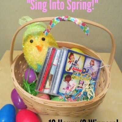 Disney Music Sing Into Spring Flash Giveaway