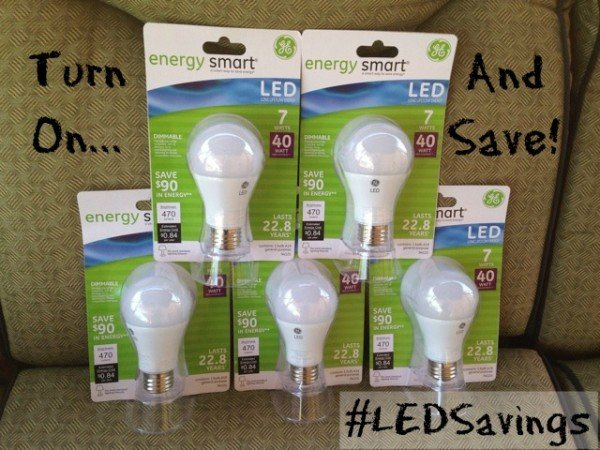 GE LED Lightbulbs #LEDSavings #shop