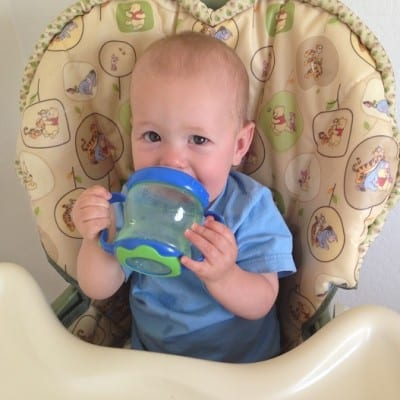 A Boy And His Cup