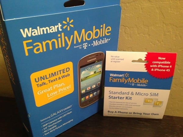Walmart best plans #FamilyMobile #shop