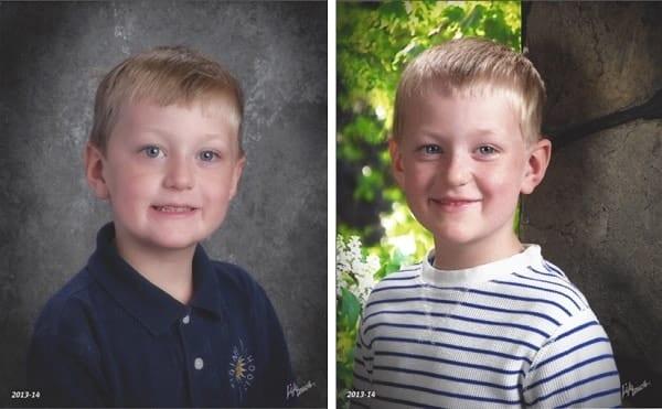 Carter-before-and-after-Kindergarten
