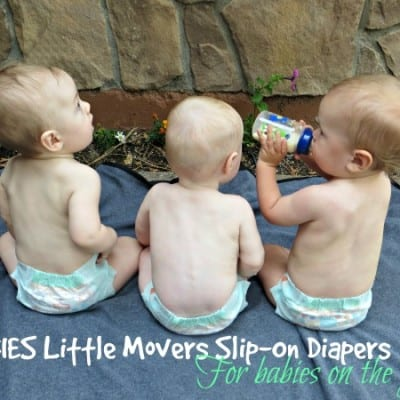 Huggies Slip-Ons For Your Little Mover