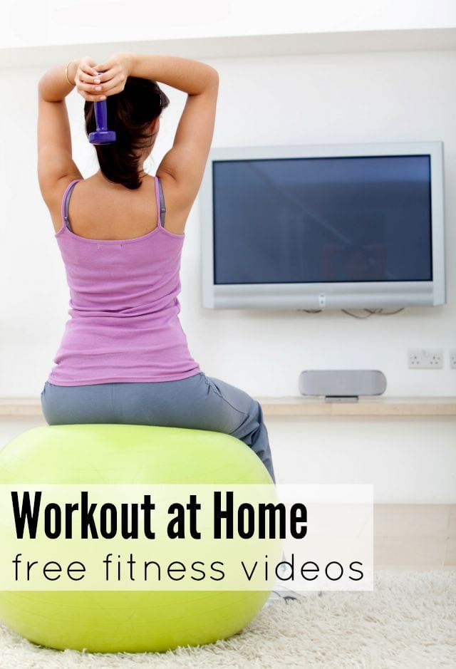 Fit in your workout in your living room, with this clickable calendar of 30 free fitness videos, all from different YouTube channels!