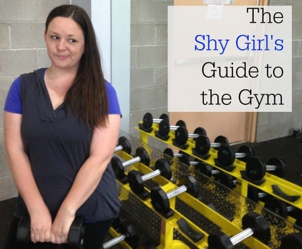 The Shy Girl's Guide To The Gym #HerHealth #shop