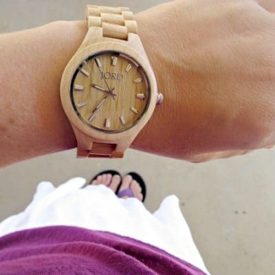 Time for a Wood Watch Giveaway