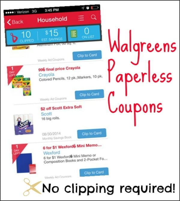 Save on your faves with #WalgreensPaperless coupons! #shop