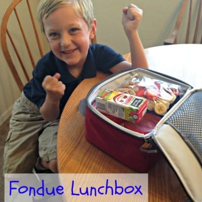 Fondue Lunchbox Recipe