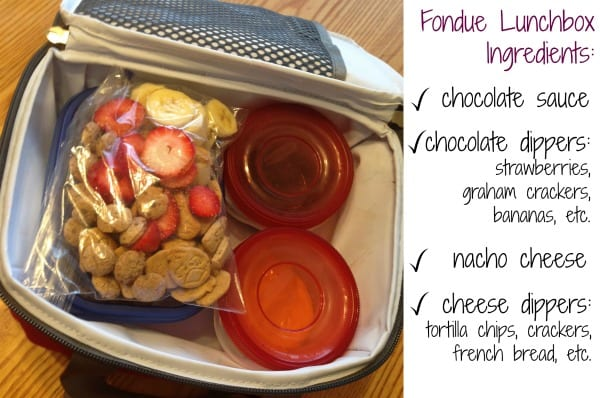 Fondue Lunchbox Recipe #ChooseSmart #shop