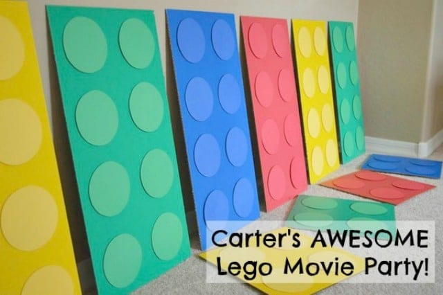 Carter's Awesome LEGO Movie Party | Shaping Up To Be A Mom