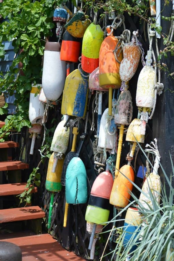 lobster-buoys