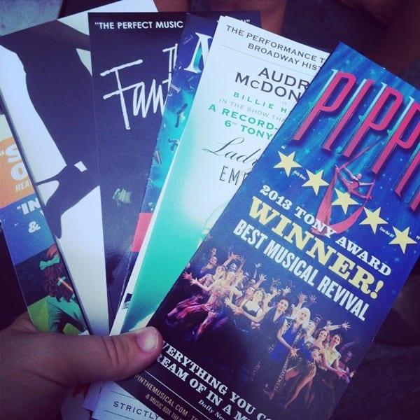 theatre-brochures