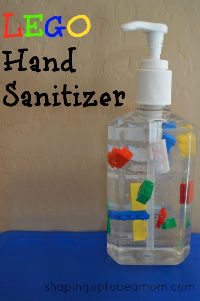 Lego Hand Sanitizer {Lego Party Ideas}