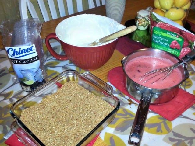 Jello Salad Mini Pretzel Recipe Assembly