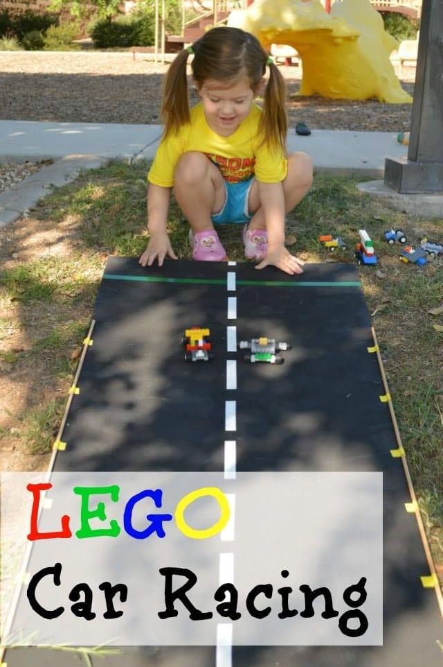 Lego Car Racing {Lego Party Ideas}