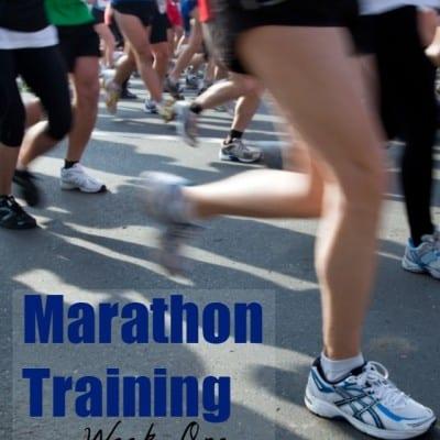 Marathon Training Week 1: No Stones In My Way