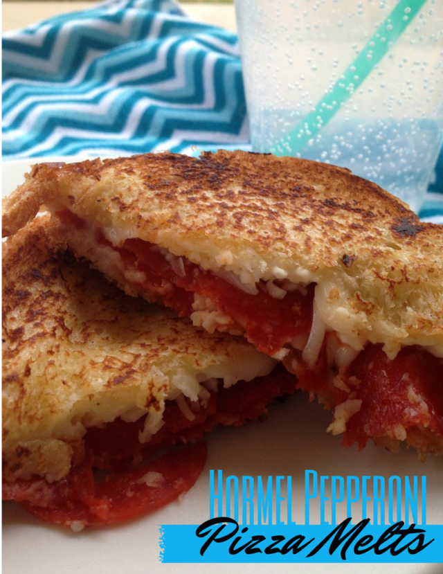 Hormel Pepperoni Pizza Melts #PepItUp #Ad