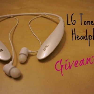 LG Tone Ultra Headphones Giveaway