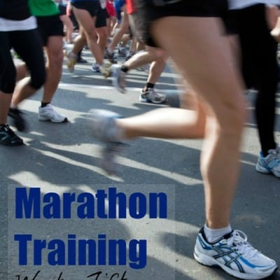 Marathon Training Week 15: Get Ready, Get Set…