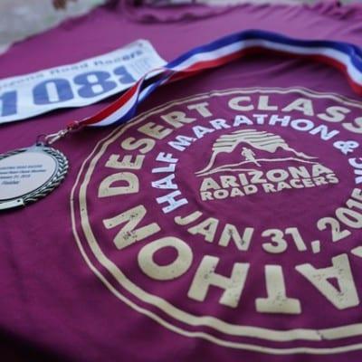 I Ran A Marathon
