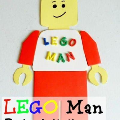 Lego Party Ideas: Lego Man Craft
