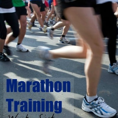 Marathon Training Week 16: Twenty-Six Point Two