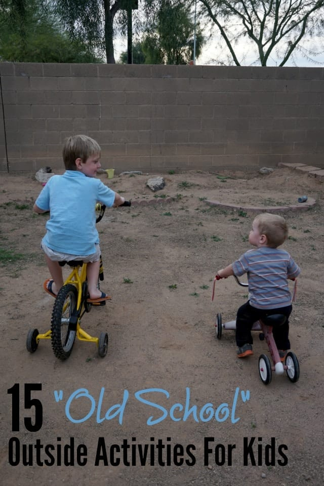 15 Outside Activities For Kids