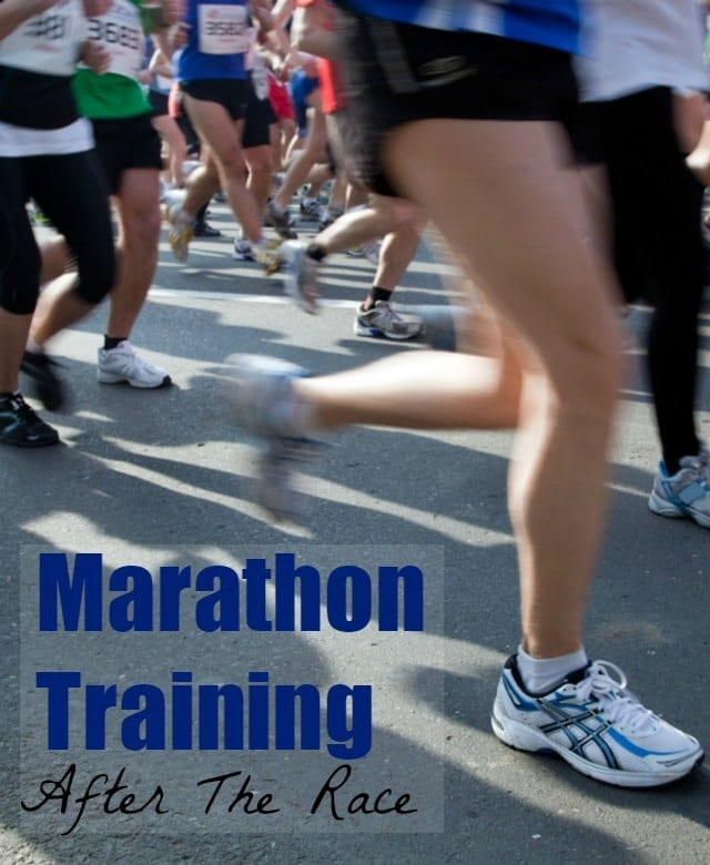 Marathon Training: After The Race